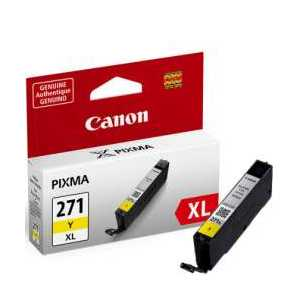 Original Canon CLI-271Y XL Yellow ink cartridge, High Yield