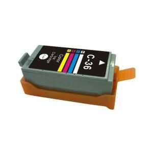 Remanufactured Canon CLI-36 Color ink cartridge