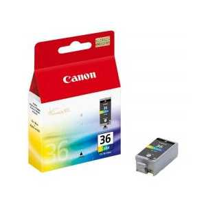 Original Canon CLI-36 Color ink cartridge, 1511B002