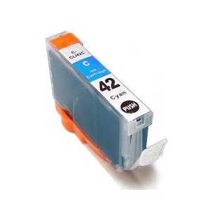 Compatible Canon CLI-42C Cyan ink cartridge