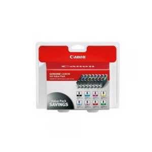 Multipack - Canon CLI-8 genuine OEM ink cartridges - 0620B015 - 8 pack