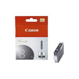 Original Canon CLI-8BK Black ink cartridge, 0620B002