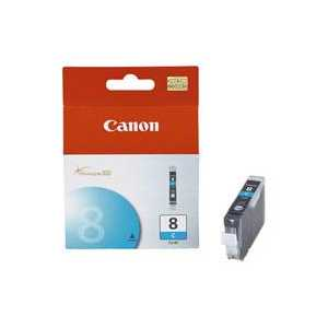 Original Canon CLI-8C Cyan ink cartridge, 0621B002