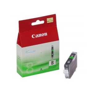 Original Canon CLI-8G Green ink cartridge, 0627B002