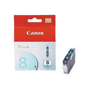 Original Canon CLI-8PC Photo Cyan ink cartridge, 0624B002