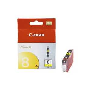 Original Canon CLI-8Y Yellow ink cartridge, 0623B002