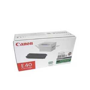 Original Canon E40 Black toner cartridge, 1491A002AA, 4000 pages