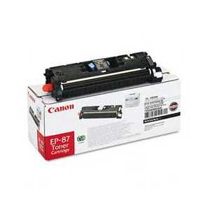 Original Canon EP-87 Black toner cartridge, 7433A005AA, 5000 pages