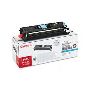 Original Canon EP-87 Cyan toner cartridge, 7432A005AA, 4000 pages