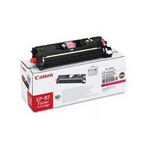 Original Canon EP-87 Magenta toner cartridge, 7431A005AA, 4000 pages