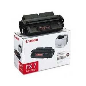 Original Canon FX-7 Black toner cartridge, 7621A001AA, 4500 pages