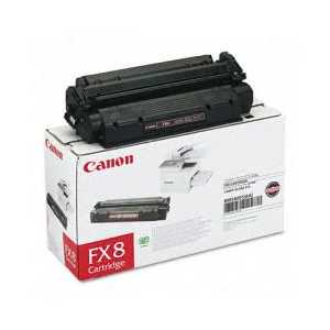 Original Canon FX-8 Black toner cartridge, 8955A001AA, 3500 pages