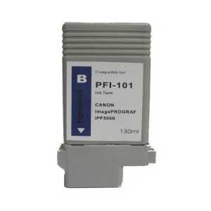 Compatible Canon PFI-101B Blue ink cartridge