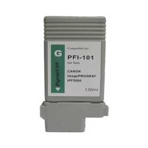 Canon PFI-101G Pigment Green compatible ink cartridge - 0890B001AA