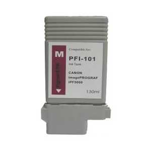 Compatible Canon PFI-101M Magenta ink cartridge