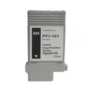 Compatible Canon PFI-101MBK Matte Black ink cartridge