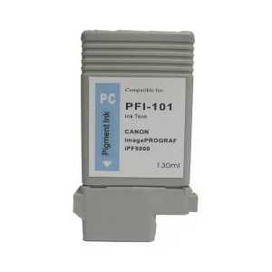 Compatible Canon PFI-101PC Photo Cyan ink cartridge