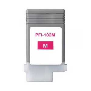 Compatible Canon PFI-102M Magenta ink cartridge
