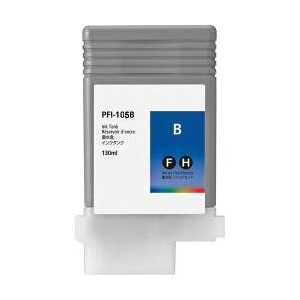Compatible Canon PFI-105B Blue ink cartridge