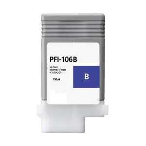 Compatible Canon PFI-106B Blue ink cartridge