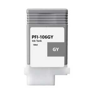 Compatible Canon PFI-106GY Gray ink cartridge