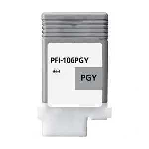 Compatible Canon PFI-106PGY Photo Gray ink cartridge
