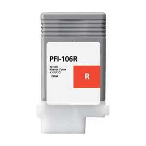 Compatible Canon PFI-106R Red ink cartridge