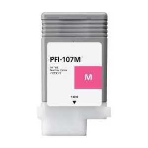Compatible Canon PFI-107M Magenta ink cartridge