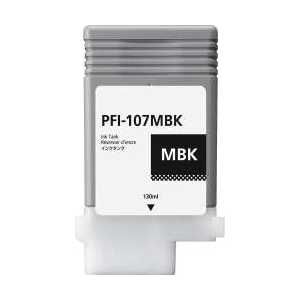 Compatible Canon PFI-107MBK Matte Black ink cartridge