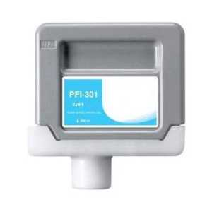 Compatible Canon PFI-301C Cyan ink cartridge