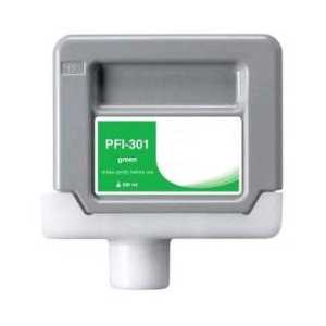 Compatible Canon PFI-301G Green ink cartridge