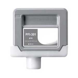 Compatible Canon PFI-301GY Gray ink cartridge