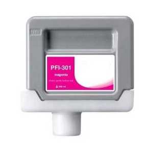 Canon PFI-301M Pigment Magenta compatible ink cartridge - 1488B001AA