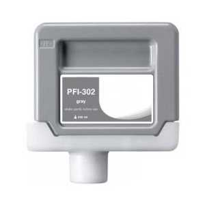 Compatible Canon PFI-302GY Gray ink cartridge