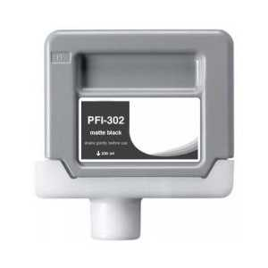 Compatible Canon PFI-302MBK Matte Black ink cartridge
