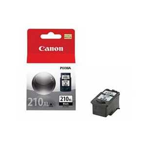 Original Canon PG-210XL Pigment Black ink cartridge, High Yield, 2973B001