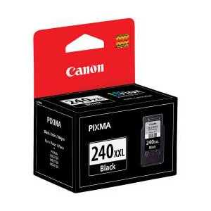 Original Canon PG-240XXL Pigment Black Extra ink cartridge, High Yield, 5204B001