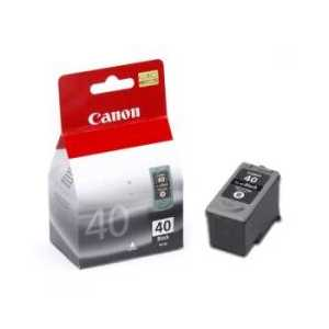 Canon PG-40 Pigment Black genuine OEM ink cartridge - 0615B002
