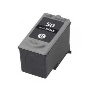 Canon PG-50 Pigment Black remanufactured ink cartridge