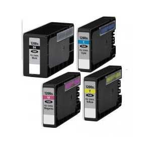 Compatible Canon PGI-1200 XL ink cartridges, 4 pack