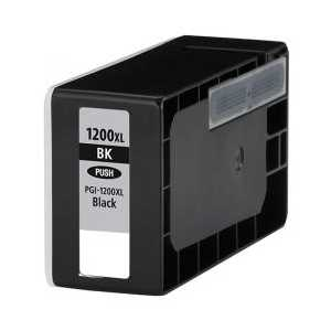 Compatible Canon PGI-1200BK XL Black ink cartridge, High Yield