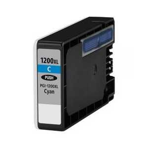 Compatible Canon PGI-1200C XL Cyan ink cartridge, High Yield