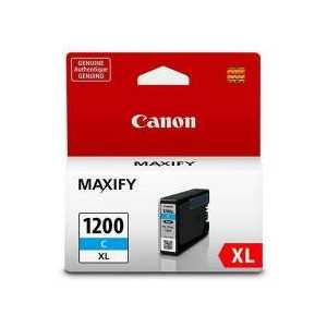 Original Canon PGI-1200C XL Cyan ink cartridge, High Yield