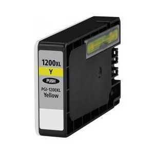 Compatible Canon PGI-1200Y XL Yellow ink cartridge, High Yield