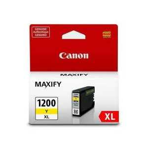 Original Canon PGI-1200Y XL Yellow ink cartridge, High Yield