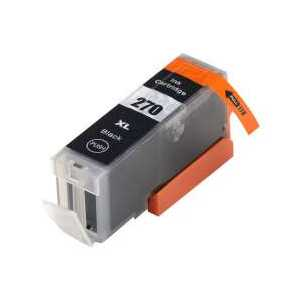 Compatible Canon PGI-270 XL Black ink cartridge, High Yield