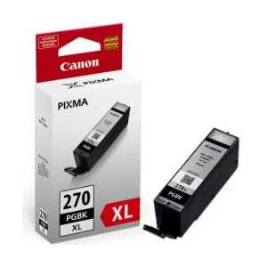 Original Canon PGI-270 XL Pigment Black ink cartridge, High Yield