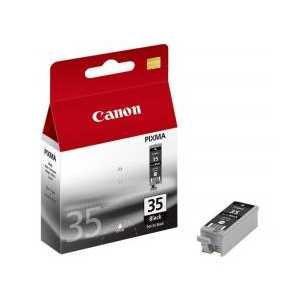 Original Canon PGI-35 Pigment Black ink cartridge, 1509B002