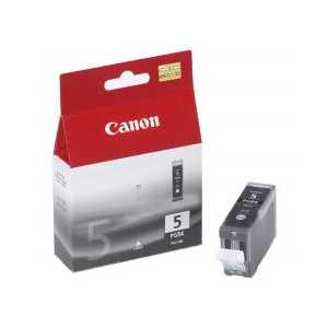 Canon PGI-5 Pigment Black genuine OEM ink cartridge - 0628B002
