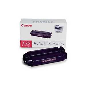 Original Canon X25 Black toner cartridge, 8489A001AA, 2500 pages